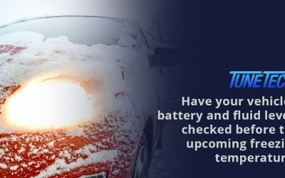 Make sure your vehicle is prepared for frigid temperatures