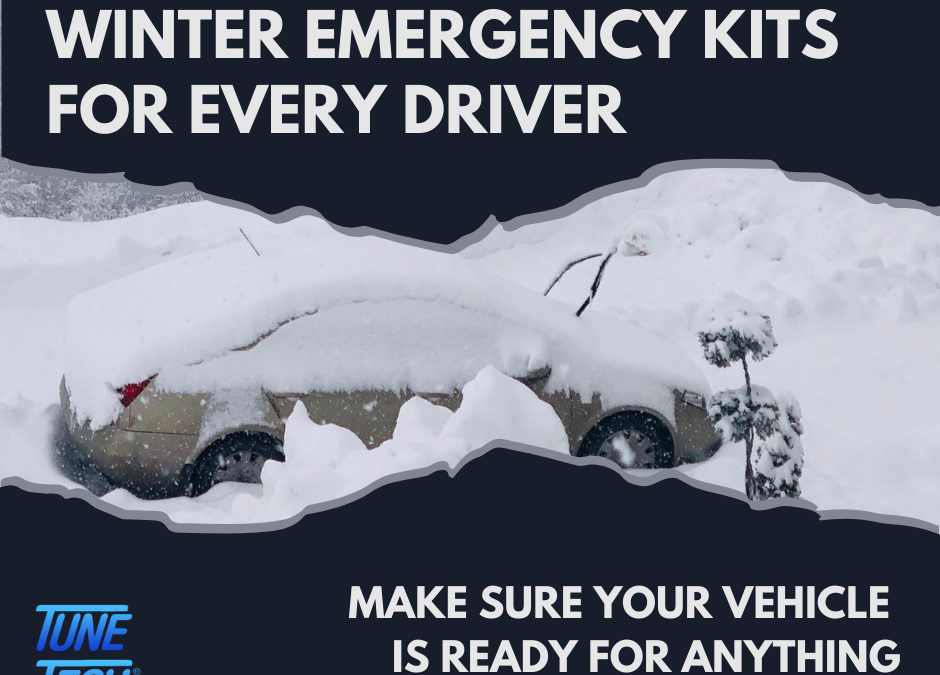 Winter Emergency Kits for Every Driver